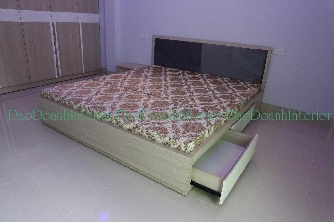 Giường ngủ có 2 hộc kéo
